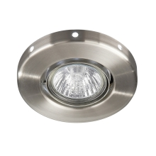 Philips Massive 59535/17/10 - LED Downlight ZUMA 1xGU10/35W + 1xLED 0,5W