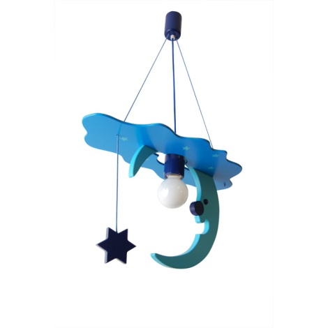 28197 - Dětský lustr Měsíc