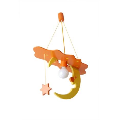 28198 - Dětský lustr Měsíc
