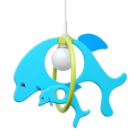 28214 - Dětský lustr Delfín
