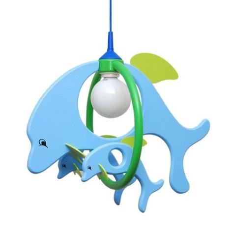 28217 - Dětský lustr Delfín