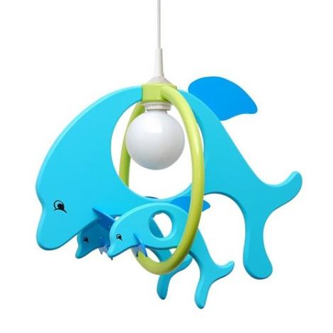 28221 - Dětský lustr Delfín