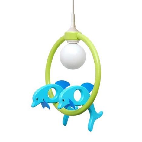 28230 - Dětský lustr Delfín
