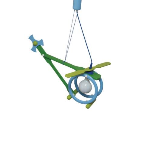 28232 - Dětský lustr Helikoptéra
