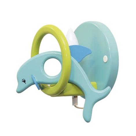 28241 - Dětské nástěnné svítidlo Delfín