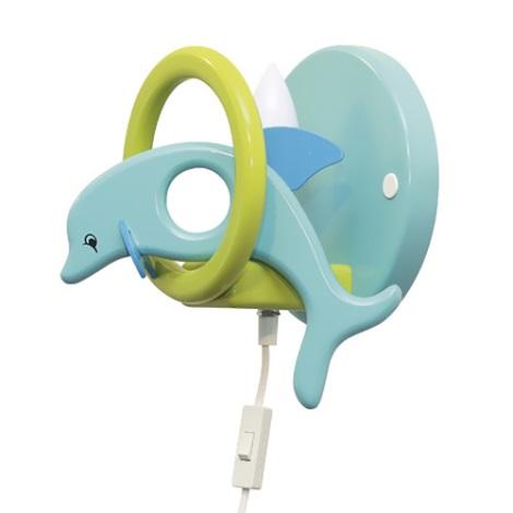 28246 - Dětské nástěnné svítidlo Delfín