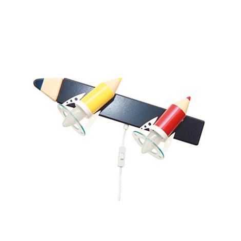 28295 - Dětské nástěnné svítidlo Pastelka