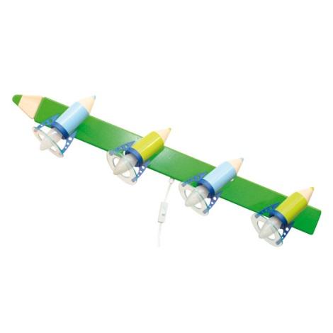 28300 - Dětské nástěnné svítidlo Pastelka