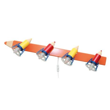 28301 - Dětské nástěnné svítidlo Pastelka