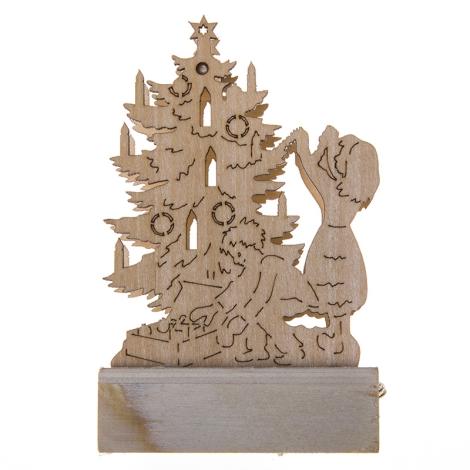 31073 - Vánoční dekorace 1xLED/0,04W/2xAA