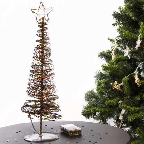 31387 - Vánoční stromeček 45cm LED/0,9W/3xAA