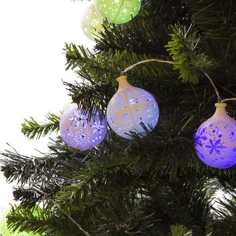 31479 - Vánoční řetez vnitřní 3m LED/0,45W/3xAA