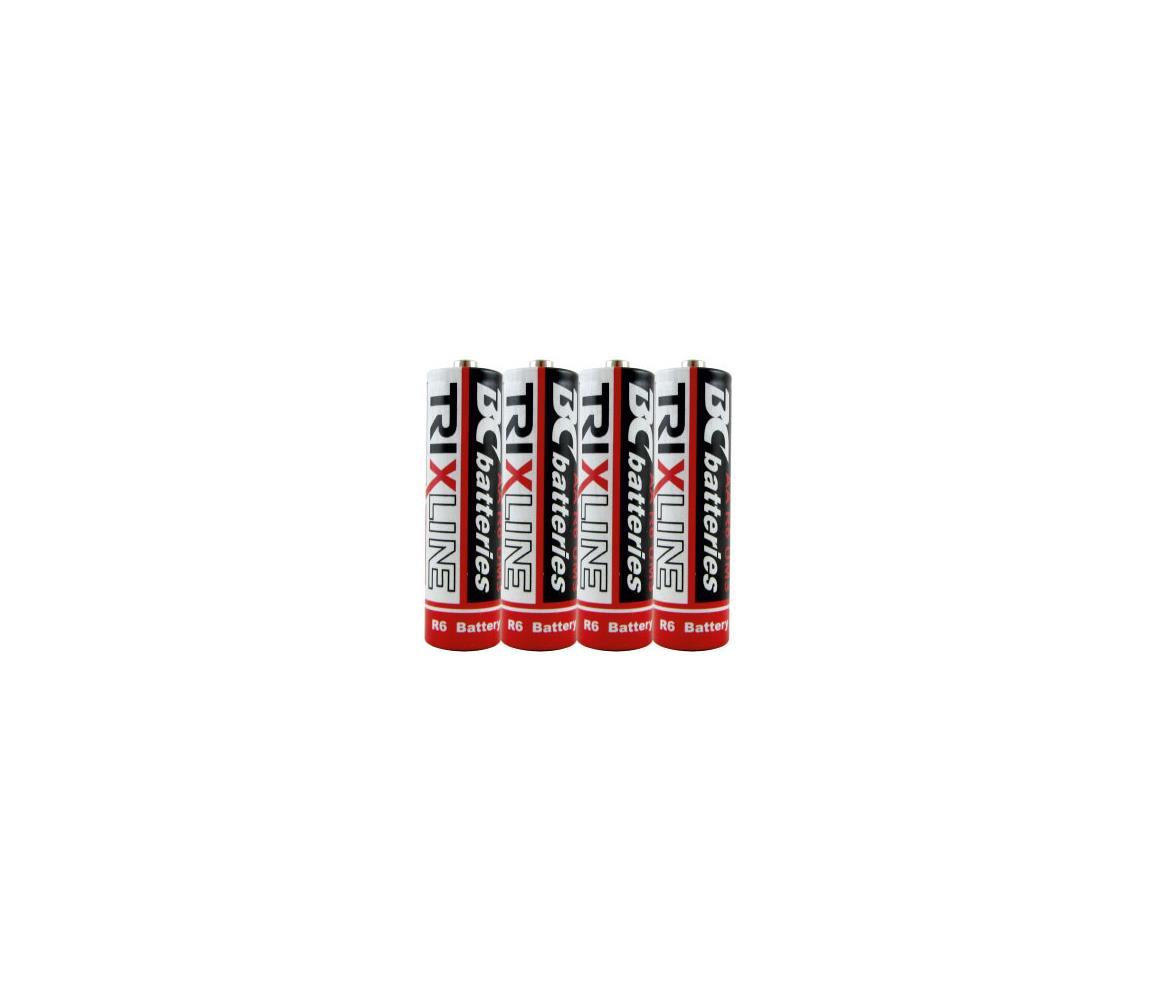 Baterie Centrum 4 ks Zinkochloridová baterie EXTRA POWER AA 1,5V BC0015