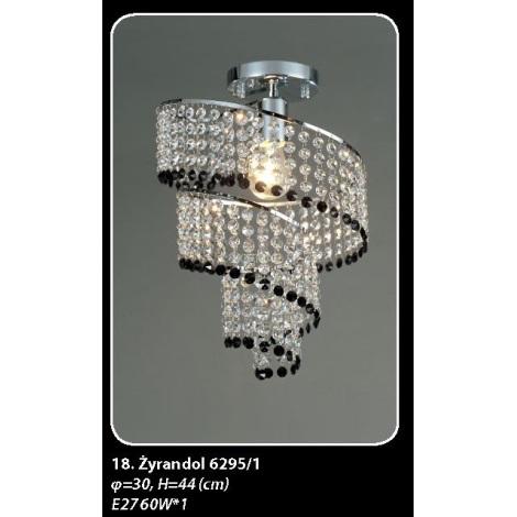 6295/1 Stropní svítidlo 1xE27/60W