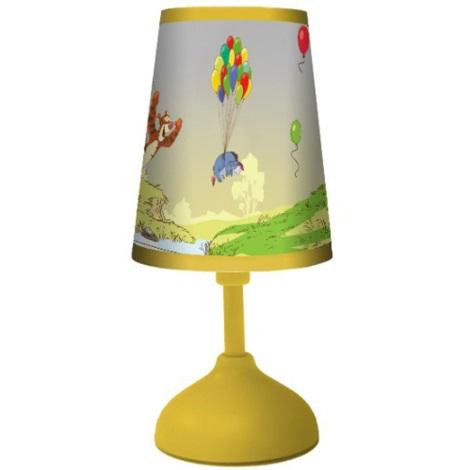 70164 Dětská stolní lampa POOH 1xG24q/10W žlutá