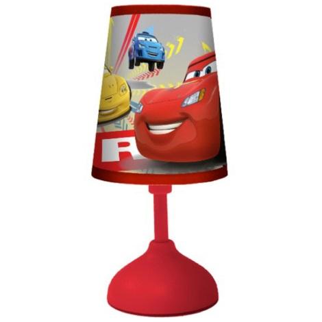 70165 Dětská stolní lampa CARS 1xG24q/10W červená