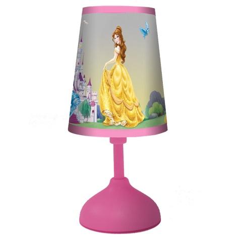 70166 Dětská stolní lampa PRINCESS 1xG24q/10W růžová