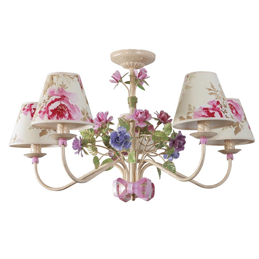Barokně opuletní lustr