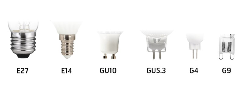 What are the sockets for light sources?