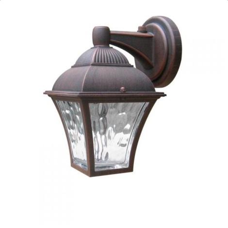 AL832DNWWPSR - Venkovní nástěnné svítidlo s čidlem PARIS 2xLED/3W/230V