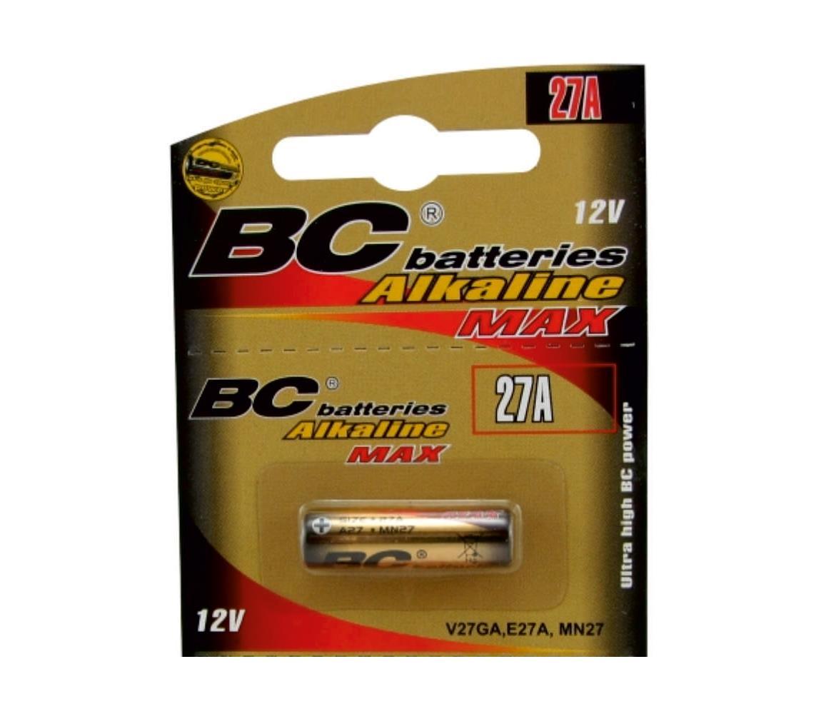 Baterie centrum Alkalická baterie 27A 12V