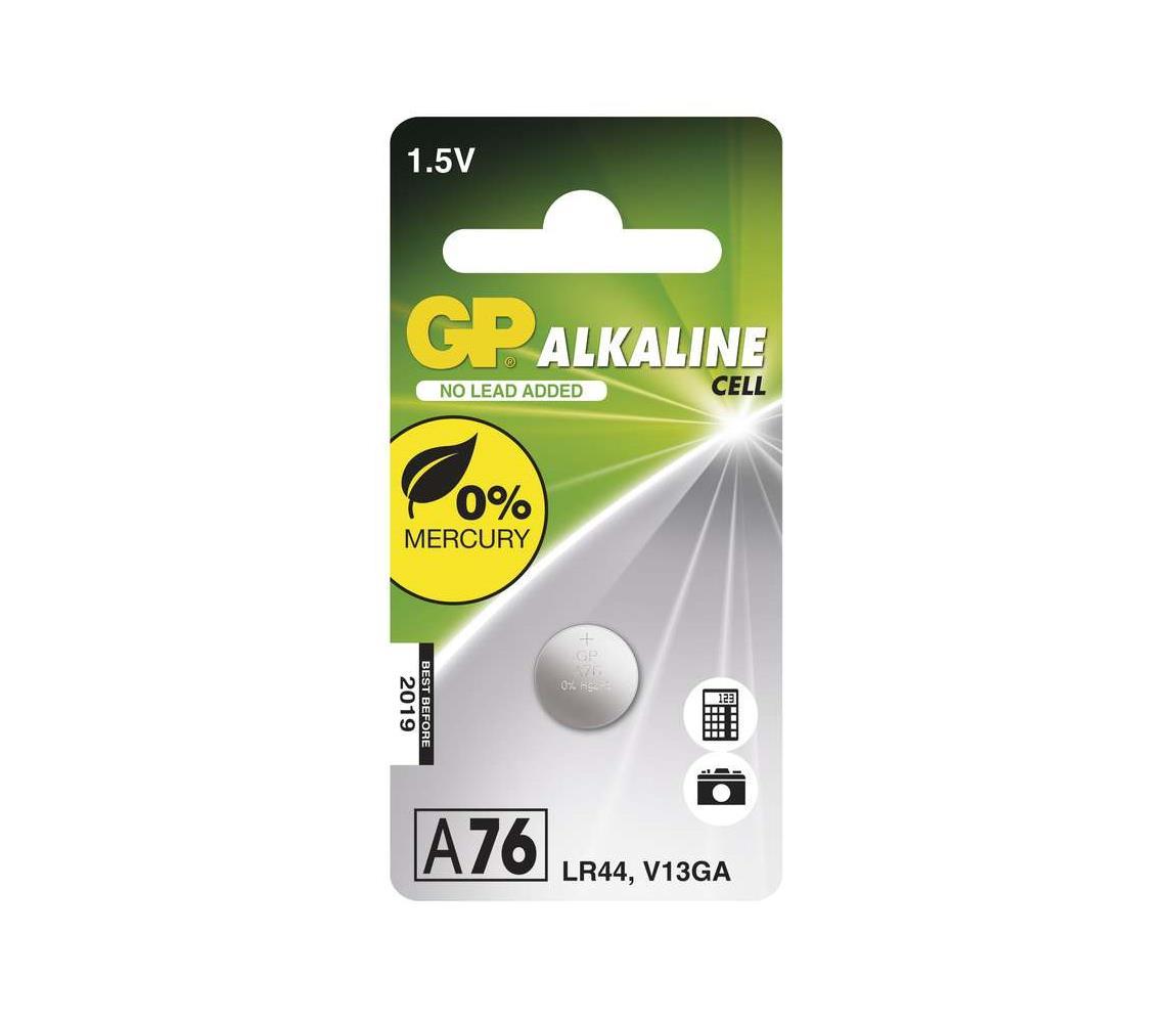 EMOS Alkalická baterie knoflíková A76 GP ALKALINE 1,5V/110 mAh