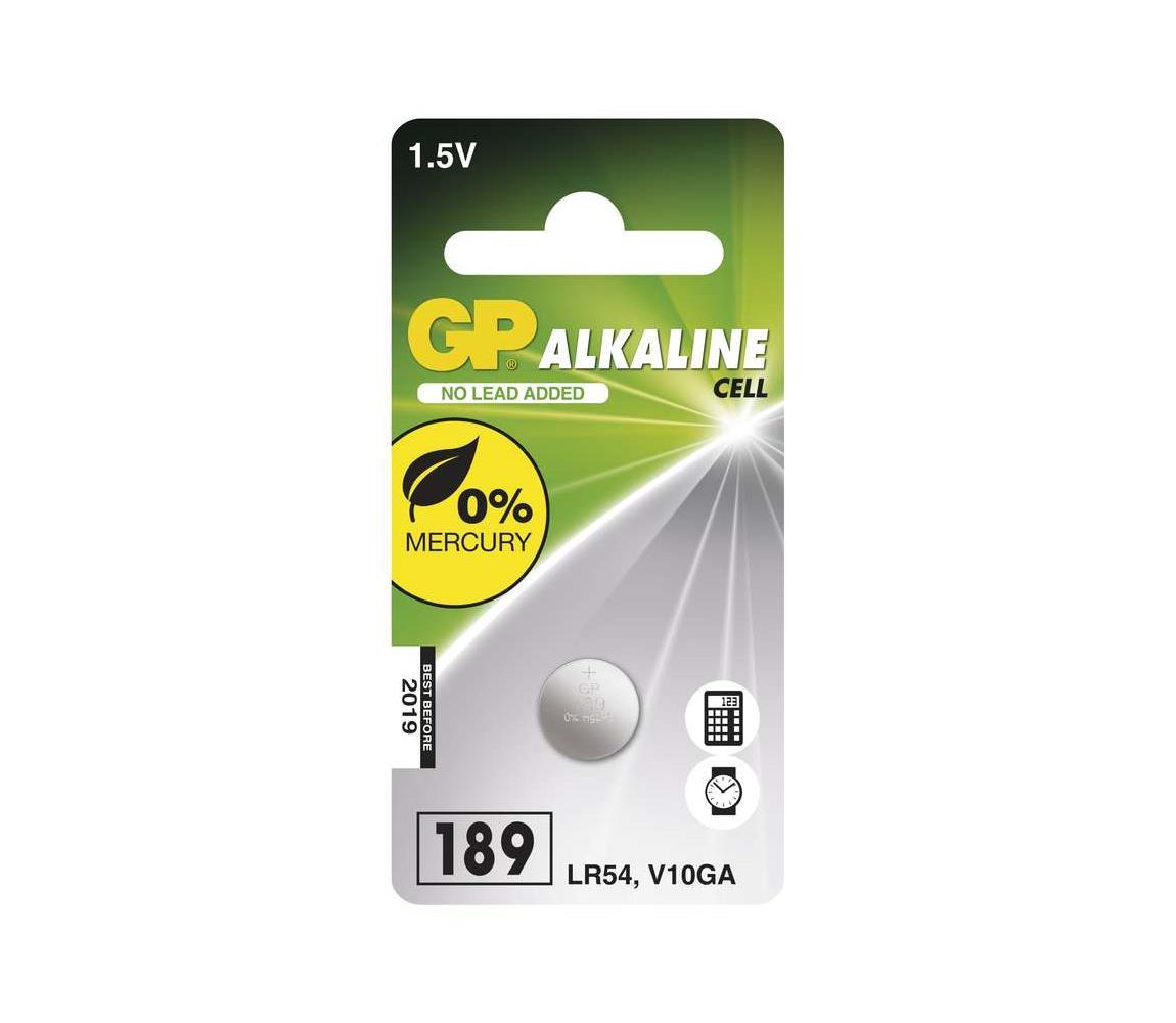 EMOS Alkalická baterie knoflíková LR54 GP ALKALINE 1,5V/44 mAh