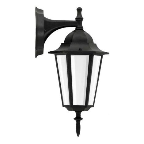 ALU1047I/DNB - Venkovní nástěnné svítidlo LIGURIA E27/60W/230V černá