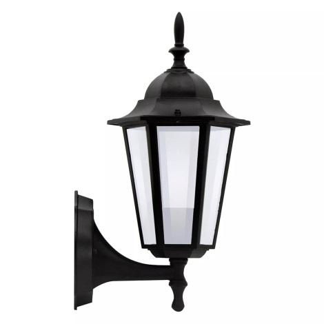 ALU1047IB - Venkovní nástěnné svítidlo LIGURIA E27/60W/230V černá