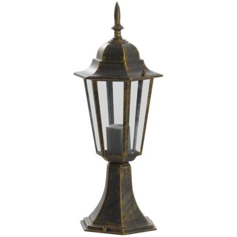 ALU1047P1P - Venkovní lampa LIGURIA E27/60W/230V patina