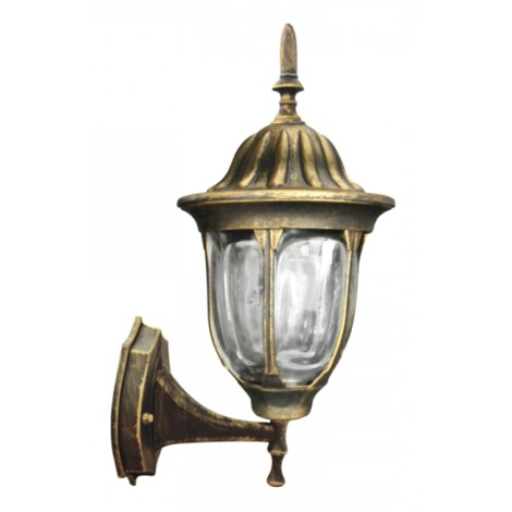 ALU3118UP - Venkovní nástěnné svítidlo FLORENCE E27/60W/230V