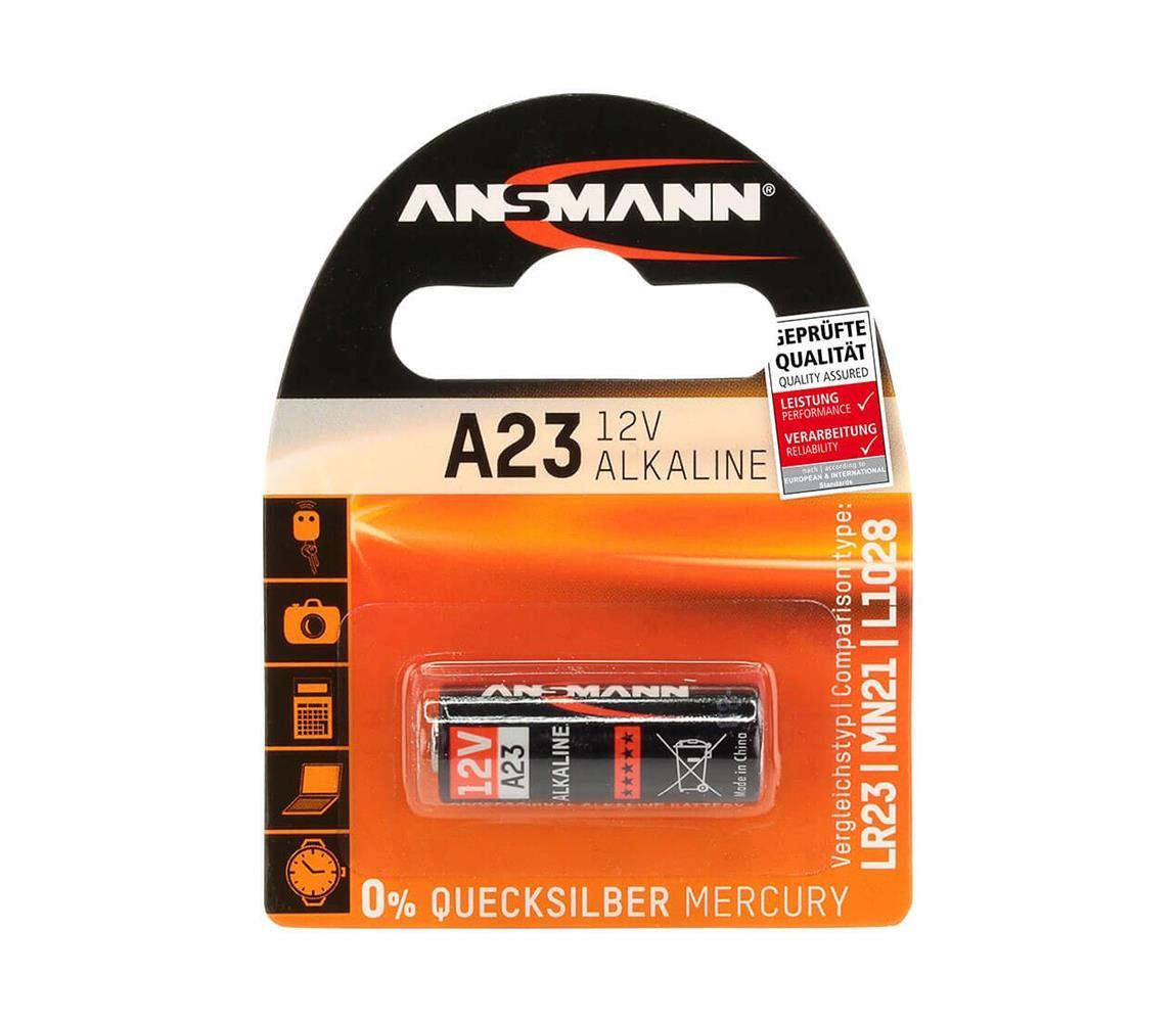 Ansmann A 23 - Alkalická baterie A23/LR23/LRV08, 12V