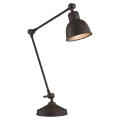 Argon 3233 - Stolní lampa EUFRAT 1xE27/60W/230V