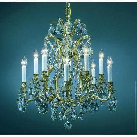 Artcrystal PAL515400010 - Lustr 10xE14/40W