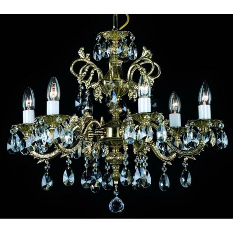 Artcrystal PAN385300006 - Lustr 6xE14/40W