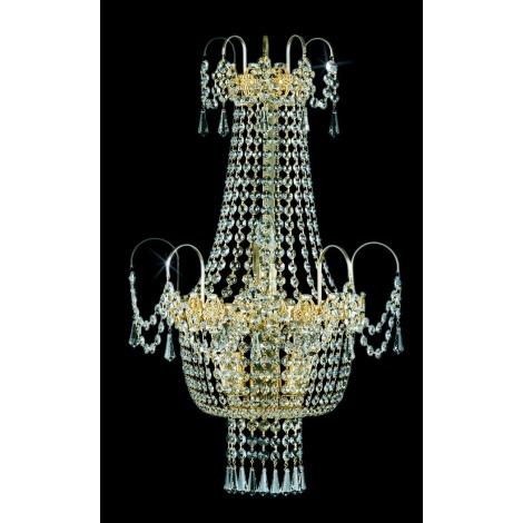 Artcrystal PWB050900003 - Nástěnné svítidlo 3xE14/40W