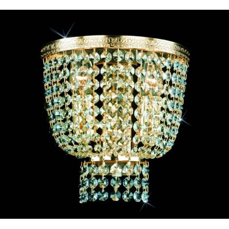 Artcrystal PWB075700002 - Nástěnné svítidlo 2xE14/40W