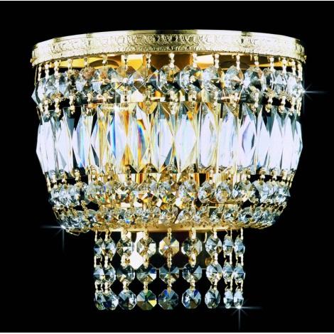 Artcrystal PWB075701002 - Nástěnné svítidlo 2xE14/40W