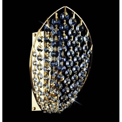 Artcrystal PWB091500001 - Nástěnné svítidlo 1xE14/40W
