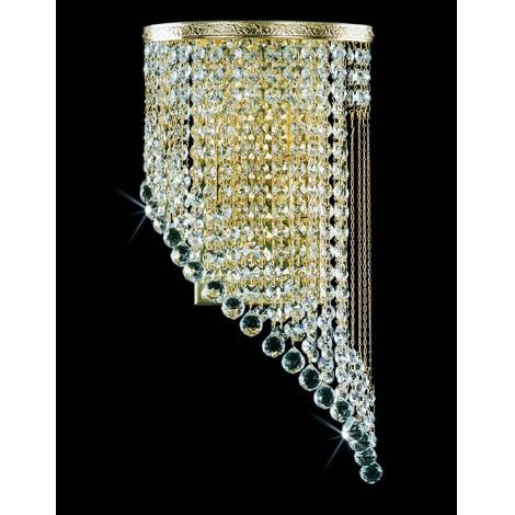 Artcrystal PWB103000002 - Nástěnné svítidlo 2xE14/40W