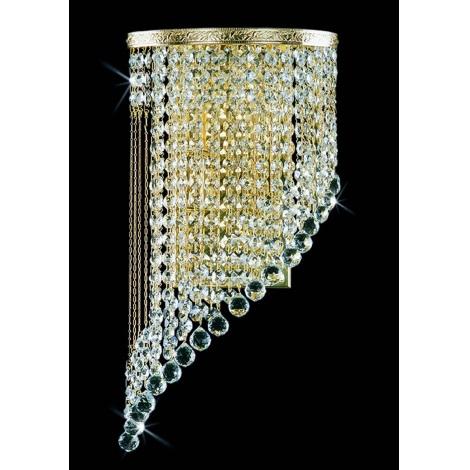 Artcrystal PWB103001002 - Nástěnné svítidlo 2xE14/40W