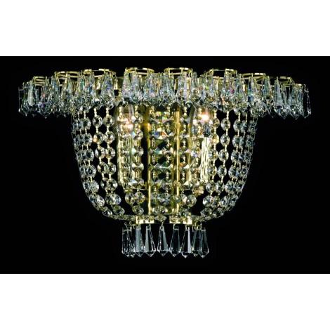 Artcrystal PWB108100002 - Nástěnné svítidlo 2xE14/40W