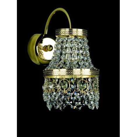 Artcrystal PWB118701001 - Nástěnné svítidlo BRILLIANT E14/60W/230V