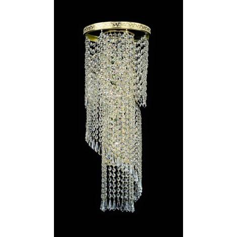 Artcrystal PWB121600003 - Nástěnné svítidlo BRILLIANT 3xE14/40W/230V