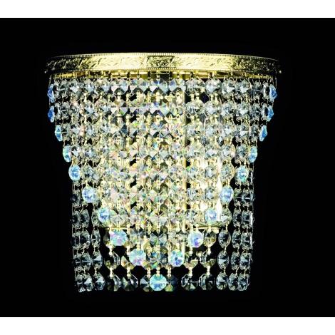 Artcrystal PWB122100002 - Nástěnné svítidlo STRASS 2xE14/40W/230V
