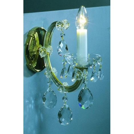 Artcrystal PWM531000001 - Nástěnné svítidlo 1xE14/40W