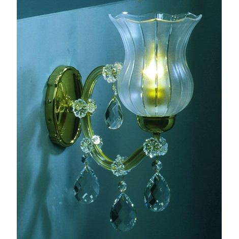 Artcrystal PWM571001001 - Nástěnné svítidlo 1xE14/40W