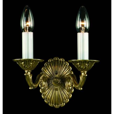 Artcrystal PWN330300002 - Nástěnné svítidlo 2xE14/40W