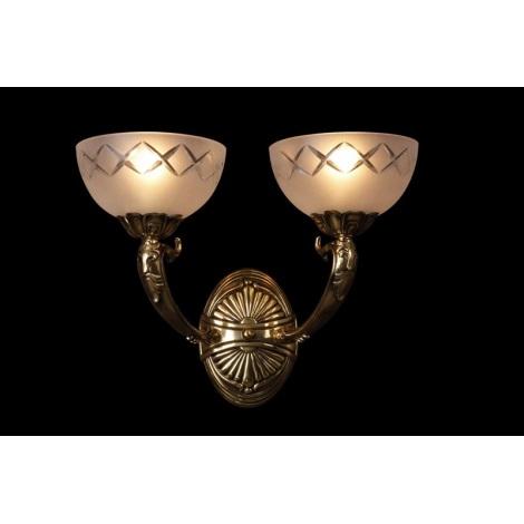 Artcrystal PWN385600002 - Nástěnné svítidlo 2xE27/60W