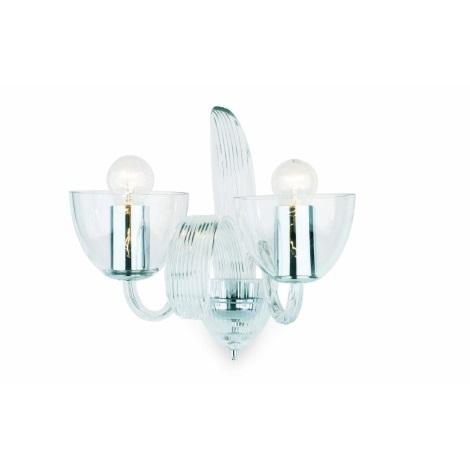 Artcrystal PWS540600002 - Nástěnné svítidlo  2xE14/40W/230V